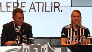 Beşiktaş Domagoj Vida ile 4,5 yıllık sözleşme imzaladı