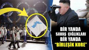 Kuzey Kore ve Güney Kore olimpiyatlara tek bayrak altında katılacak!
