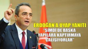 """Bülent Tezcan'dan Erdoğan'ın """"UYAP'ı FETÖ'cülere kaptırdık"""" ifadelerine yanıt!"""
