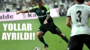 Bursaspor, Deniz Yılmaz ile yollarını ayırdı!