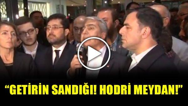 CHP İstanbul İl Başkanı Canpolat: Getirin sandığı, hodri meydan!