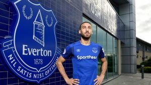 Cenk Tosun Everton formasıyla ilk maçına çıkıyor