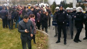 Diyanet'e OHAL zırhı! Nikah tanımını protesto etmek isteyen CHP'li gruba polis izin vermedi!