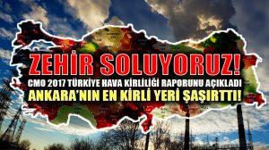 CMO Türkiye Hava Kirliliği raporunu açıkladı: En kirli iller Ankara, İstanbul, Adana