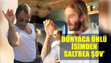 David Beckham'dan Nusret tarzı tuzlama: Saltbea şov!