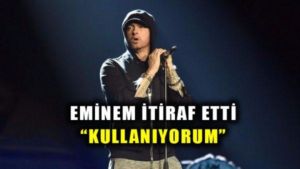 Eminem itiraf etti: Kullanıyorum!