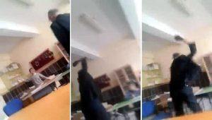 Engelli öğrenciye şiddet uygulayan öğretmen gözaltında
