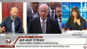 Erdoğan-Bahçeli ittifakı 50+1 etmiyor!