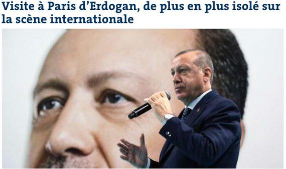 Fransa'dan Erdoğan yorumu: İzole bir lider!