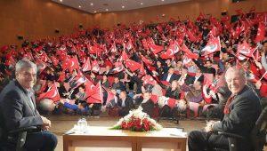 Yılmaz Özdil'li Halk Arenası'nda salon hıncahınç dolu