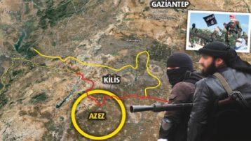 IŞİD sınırda saldırdı! Canlı bomba kendini patlattı