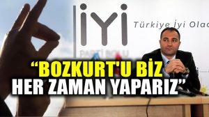 İYİ Partili İl Başkanı: Bozkurt sadece bir partinin değil, Türk milletinin bir sembolüdür!