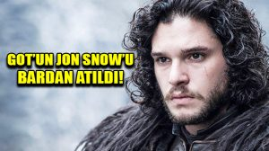 GOT'un Jon Snow'u Kit Harington bardan atıldı!