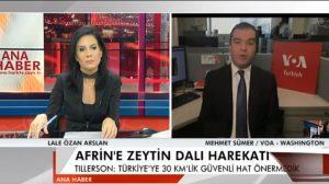 Mehmet Sümer, Afrin harekatı sonrası gerçekleşen Erdoğan-Trump görüşmesini değerlendirdi