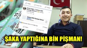 Sosyal medyada Milli Piyango şakası yaptı, şimdi kaçırılma korkusu sardı!