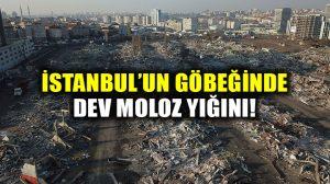 İstanbul'da yıkımı 3 gün süren Nakliyeciler sitesi, dev moloz yığını haline döndü!