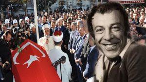 Münir Özkul'a son görev son veda