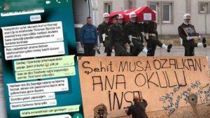 Şehit Musa Özalkan'ın vasiyeti için ilk kazma Ülkü Ocakları başkanıyla vuruldu