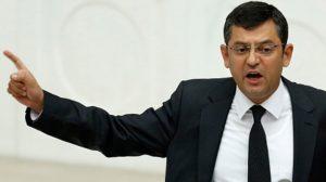 CHP Grup Başkanvekili Özgür Özel'e uyarı cezası!