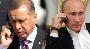"""Erdoğan ve Putin telefonla görüştü: """"Drone saldırılarında Türkiye'nin hiçbir rolü yoktur"""""""