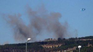 TSK Afrin'deki PYD mevzilerini vuruyor!