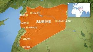 Rus helikopteri Suriye'de düştü