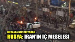 Rusya'dan net İran mesajı: Dış müdahale kabul edilemez