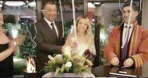 Şevket Çoruh 2018 yılına evlenerek girdi