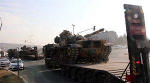 Suriye sınırına askeri sevkiyat!