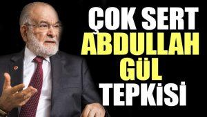 Temel Karamollaoğlu'ndan Abdullah Gül çıkışı