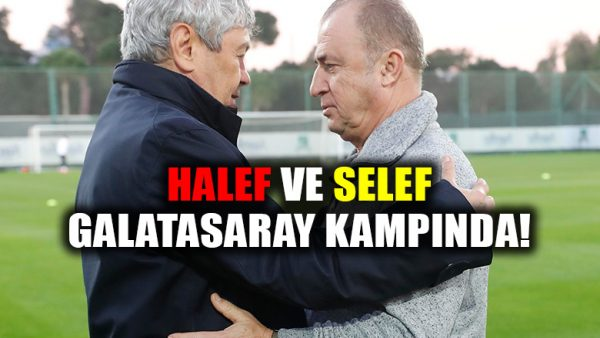 Lucescu, Galatasaray kampını ziyaret etti