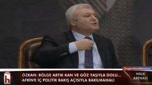 Halk Arenası'nda Tuncay Özkan'dan salonu ayağa kaldıran konuşma