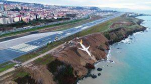 Trabzon'da pistten çıkan uçakla ilgili yeni gelişme!