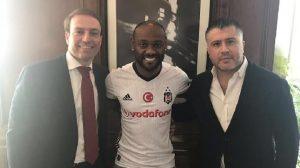 """Vagner Love'dan Beşiktaş paylaşımı: """"2.5 yıllık sözleşme imzaladım"""""""