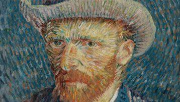Van Gogh'un bilinmeyen resmi...