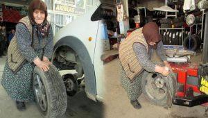 Vesile nine eşini kaybetti, çalışma azmini kaybetmedi