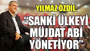 Yılmaz Özdil Erdoğan'ın öz eleştirilerini eleştirdi: Sanki ülkeyi Müjdat ağabey yönetiyor