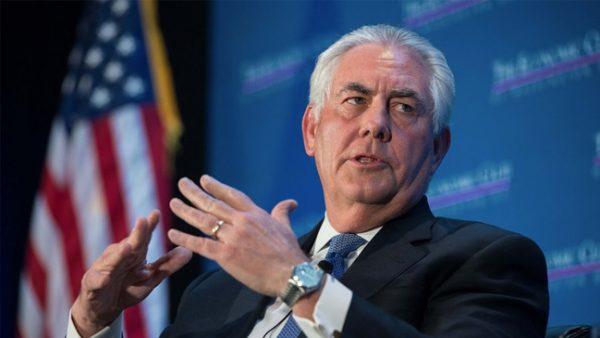 FLAŞ- Ziyaret öncesi Tillerson'dan Türkiye açıklaması