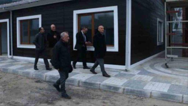 Başkan Öz'den yeni sivil savunma binasına ziyaret