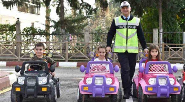 Muratpaşa'da 30 bin çocuğa trafik eğitimi…