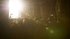 Binlerce kişi 'o an' için sıraya girdi!