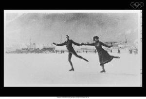 1924'te gerçekleştirilen ilk kış olimpiyatlarından kareler