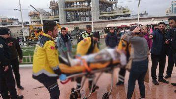 İranlı Reza Taksim'de kendini yaktı