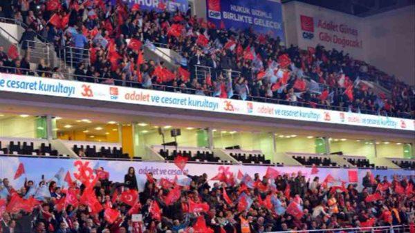 CHP'nin 36. Olağan Kurultayı'nda demokrasi şöleni