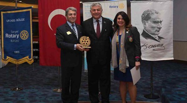 Sarıyer Belediye Başkanı Genç'e Üstün Hizmet Ödülü