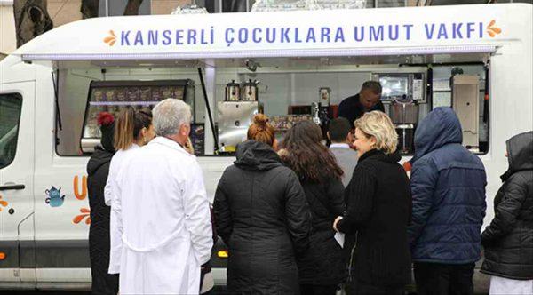 'Umut Kafe' kanserli çocukların yararına Bakırköy'de hizmete girdi