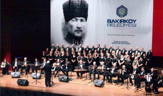 Bayati ve Mahur eserler Bakırköy Belediyesi Leyla Gencer Opera Sanat Merkezi'nde