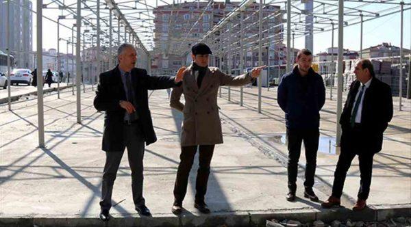 Çerkezköy'e 2 bin 300 metrekarelik kapalı pazar yeri…