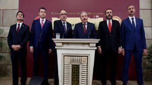 """Cumhur ittifakı"" teklifi Meclis'e sunuldu"