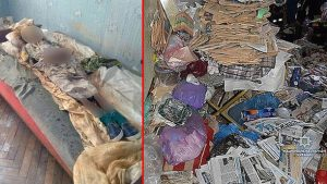 Çöp evde dehşete düşüren manzara! 30 yıl annesinin cesediyle yaşadı